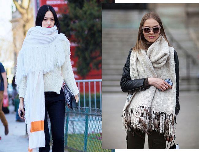 diseño atemporal ca546 7c440 Tendencias AW15: bufanda XL | fashion | Bufandas, Tendencias ...