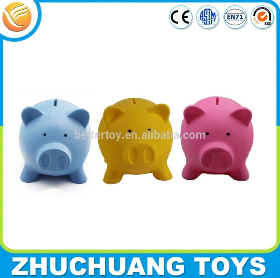 Wholesale Kids Plastic Cheap Unbreakable Pig Piggy Bank Kids Wholesale Piggy Bank Money Box