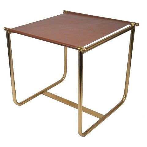 Superb Equestrian Side Table Brown Nate Berkus Furniture Pabps2019 Chair Design Images Pabps2019Com