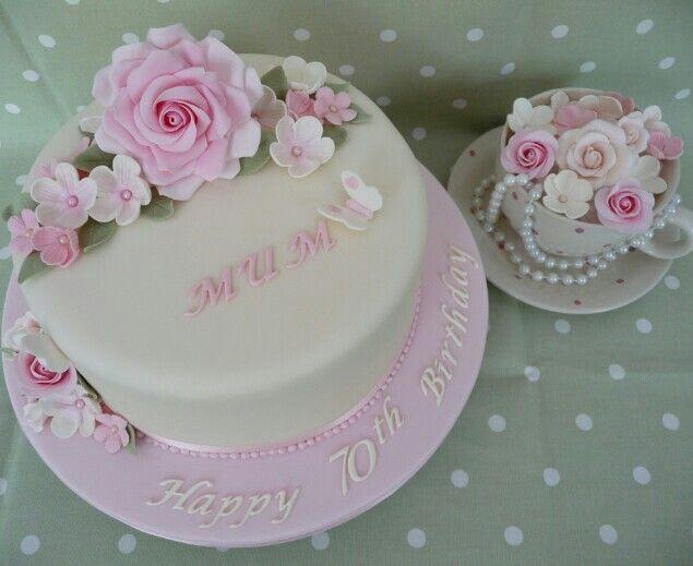 Cake Idea Cake Decoration Ideas Pinterest Cake Mom Birthday