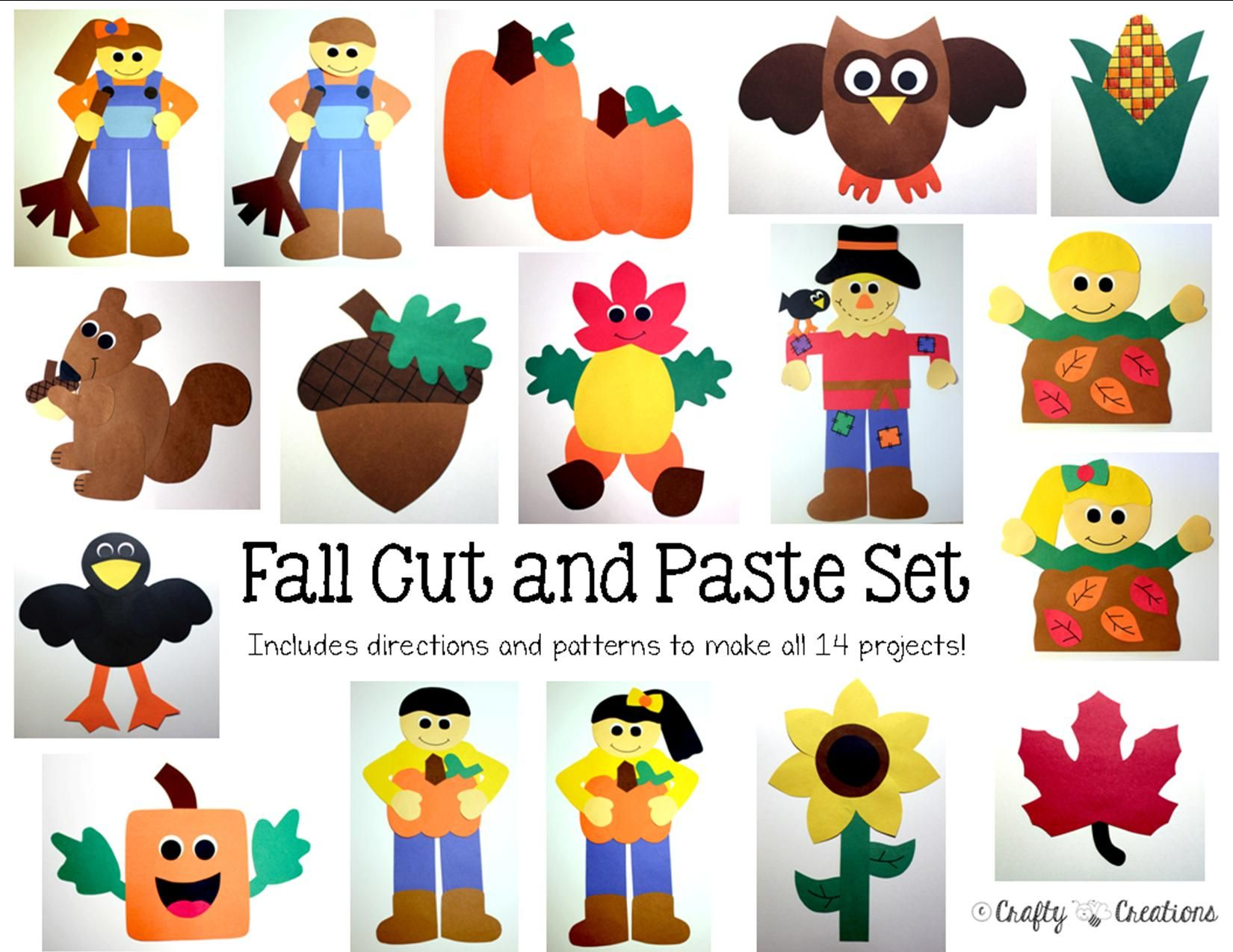 Fall Crafts Bundle