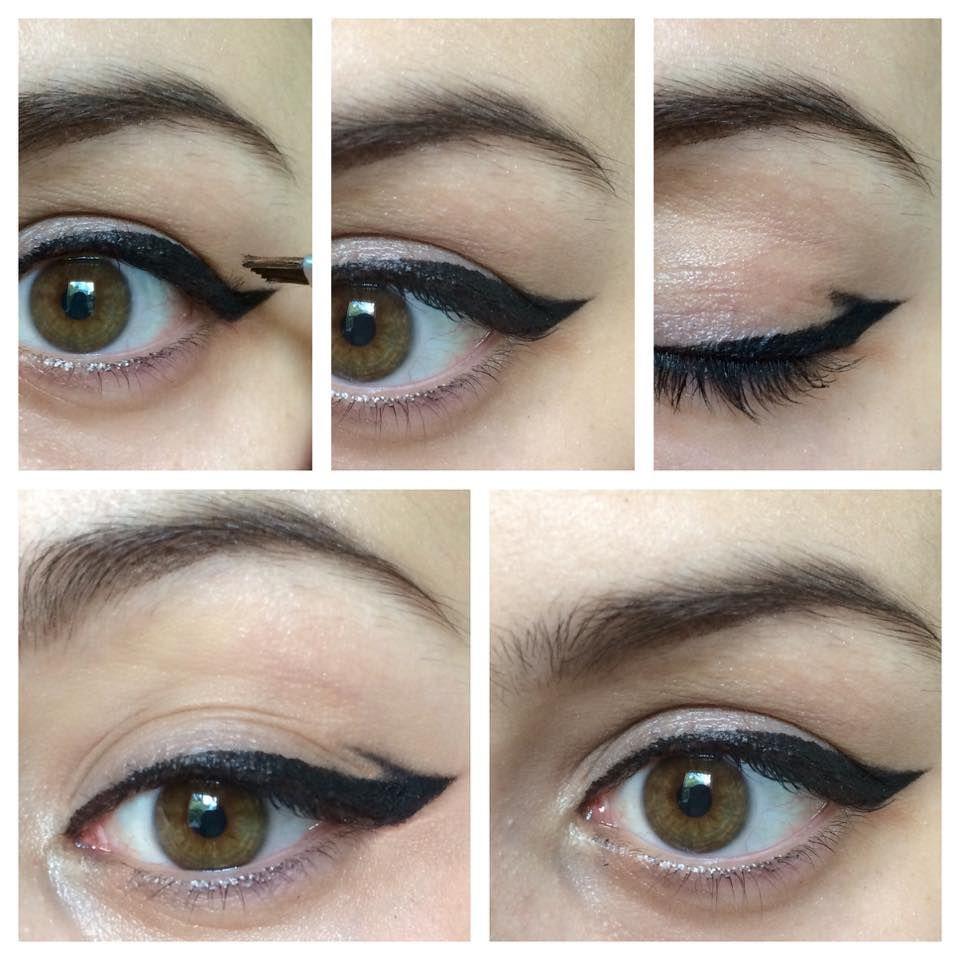 Hooded Eyes Part 3. Eyeliner for hooded eyes, How to do