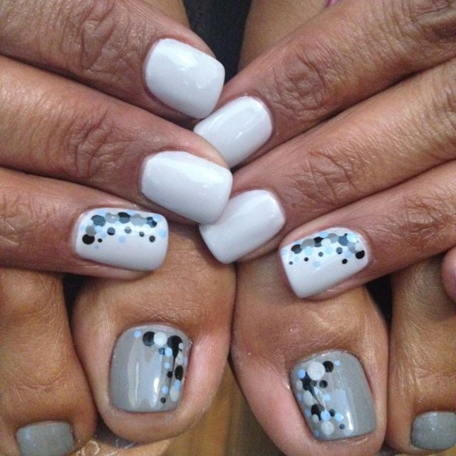 Shellac nails #nailart #nails #beauty | Nailed By DeShea | Pinterest ...
