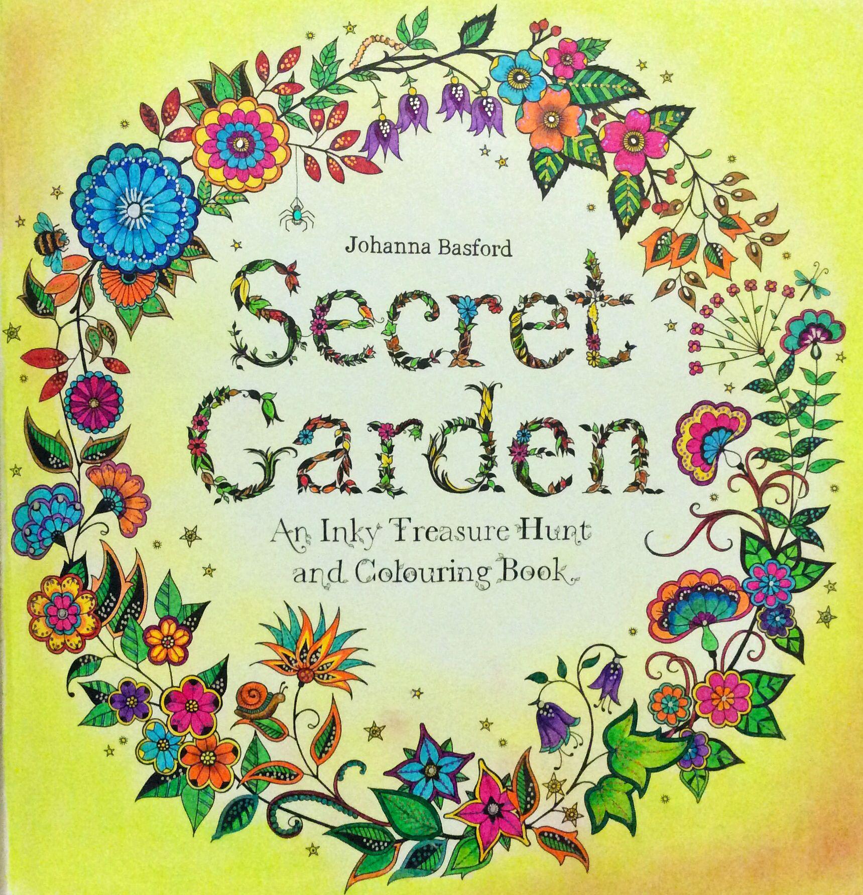 From Secret Garden Coloring Book Secret Garden Coloring Book Johanna Basford Secret Garden Secret Garden Colouring