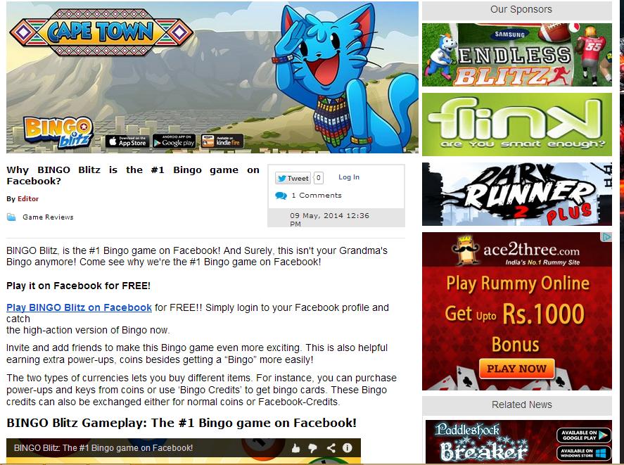 Pin on BINGO Blitz 1 game on FB!
