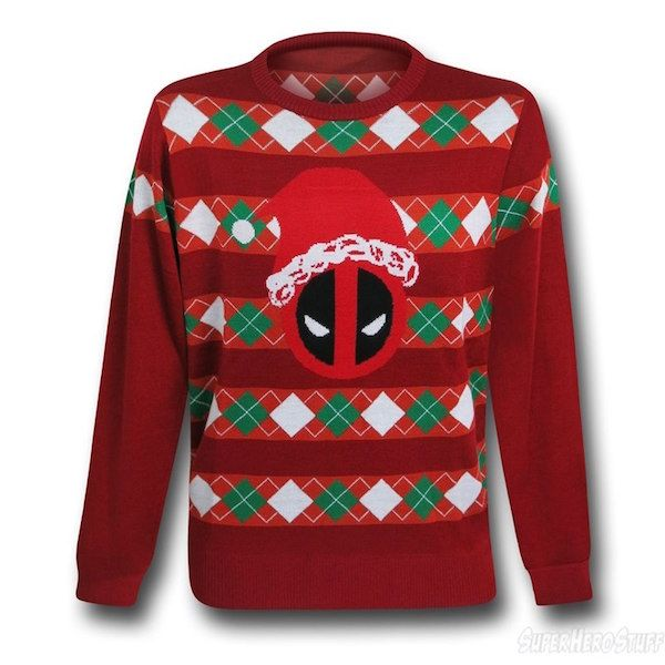 These Star Wars And Deadpool Christmas Sweater Sweatshirts Are ...