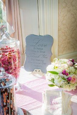 Love Is Sweet Candy Bar At Asa Waters Mansion Photo Rob Reiman Photography
