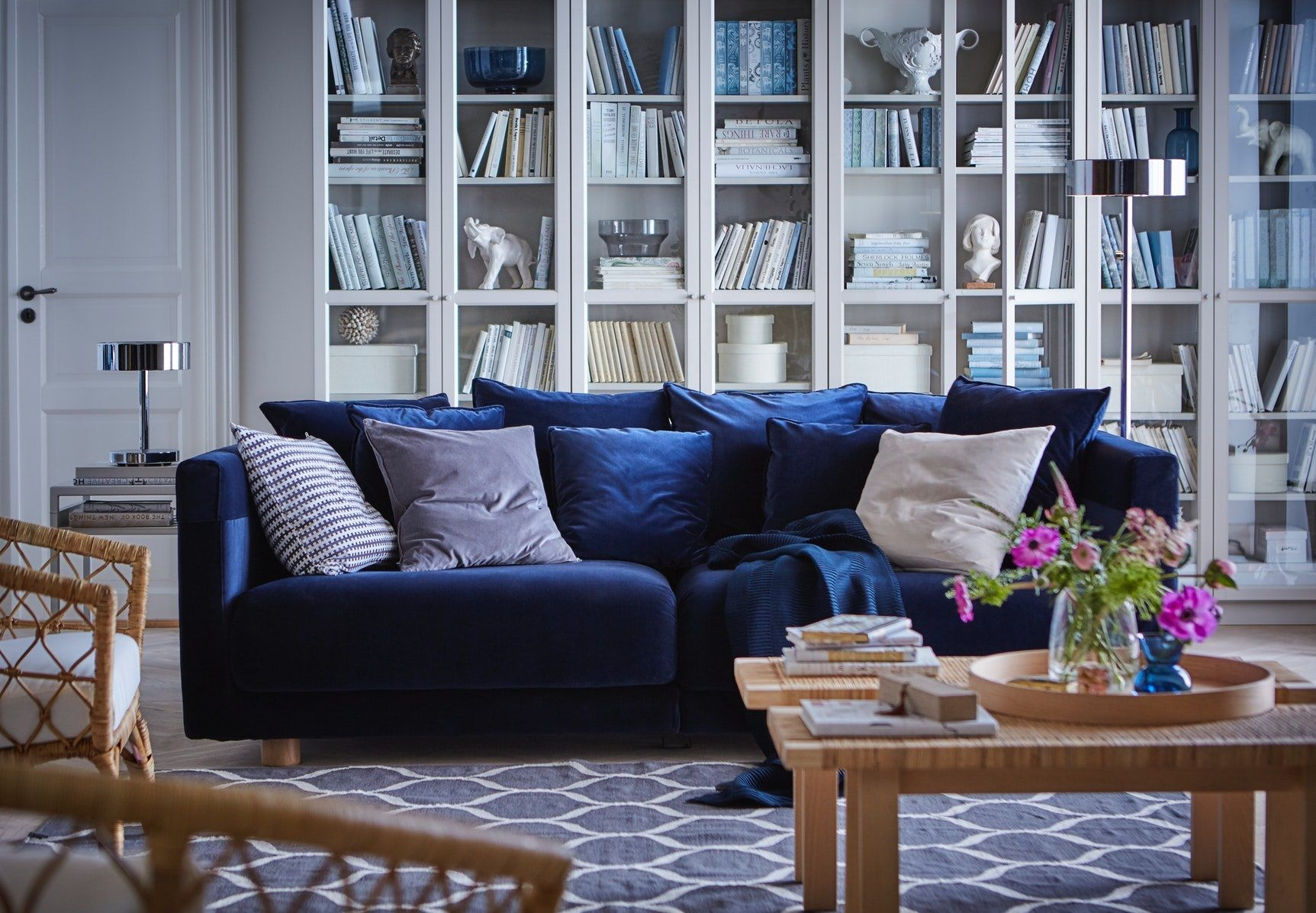 Stockholm 2017 Rug Flatwoven Handmade Net Pattern Grey Ikea Hong Kong And Macau Home Decor Cheap Home Decor Cozy Furniture [ 1196 x 1725 Pixel ]