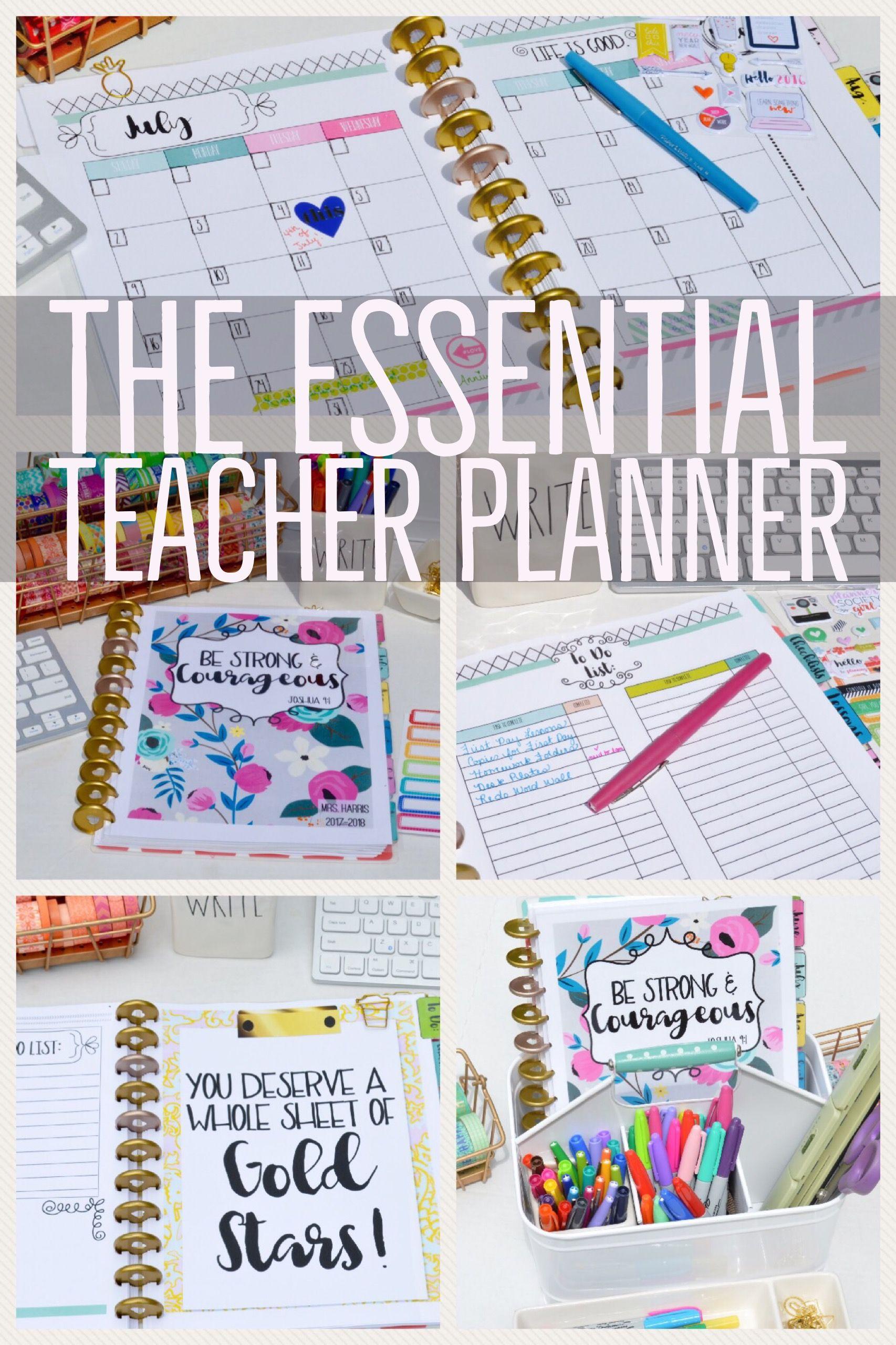 Get Organized Teacher Planner