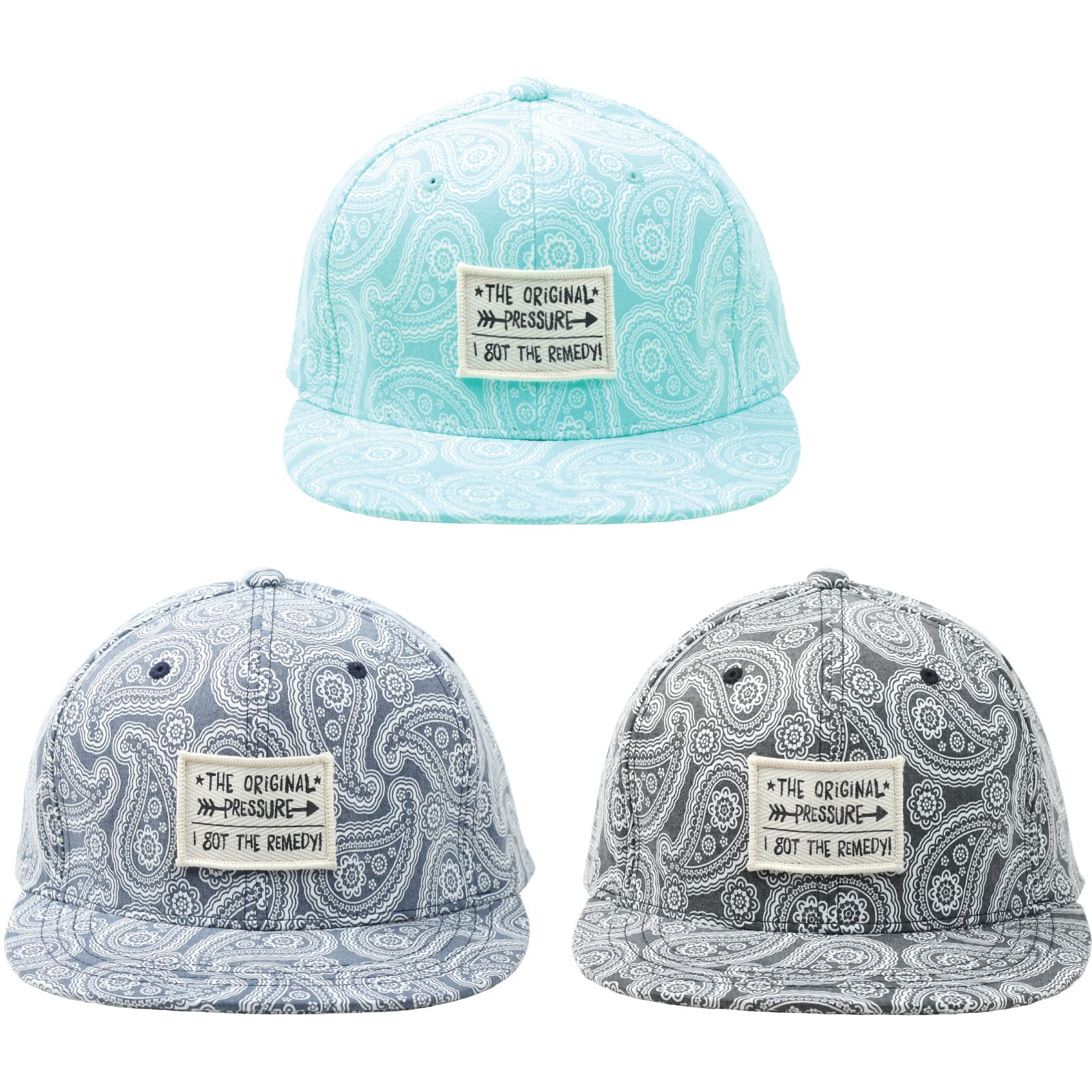 cf75fa582db H61 New Paisley Pastel Tattoo Design Club Ball Cap HipHop Bill Snapback  Flat Hat