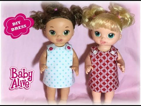 Baby Alive Dress Tutorial And Free Pattern This Is A Quick Easy