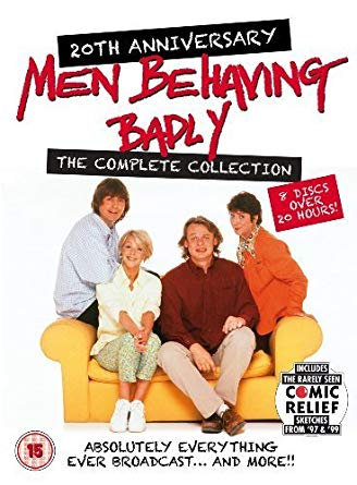 Amazon Com Men Behaving Badly The Complete Collection 8 Dvd Box Set Men Behaving Badly Non Usa Format Comedy Tv Shows Comedy Tv British Tv Comedies