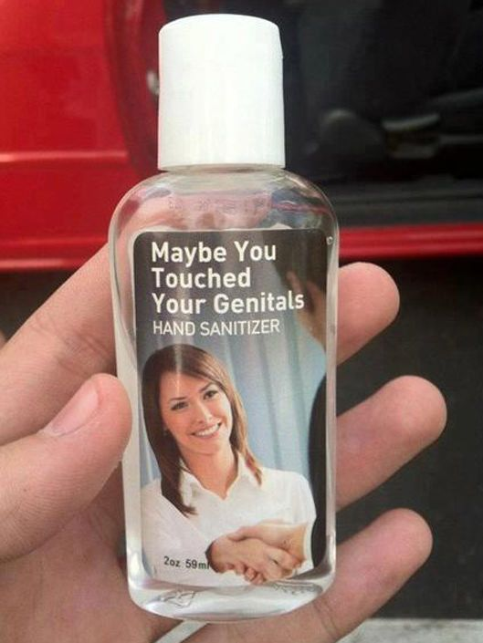 You Cant Tell Me This Isnt Funny Hand Sanitizer Touching You