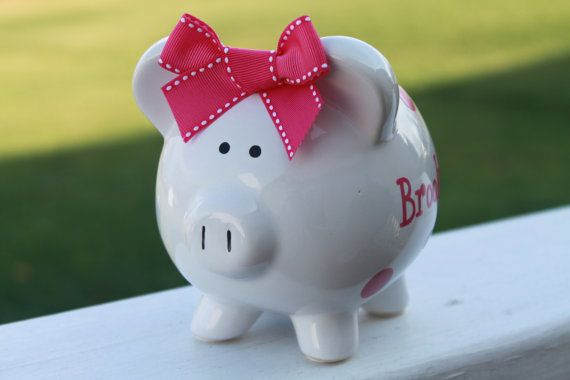 Hey, I found this really awesome Etsy listing at http://www.etsy.com/listing/86129396/personalized-polka-dot-piggy-bank