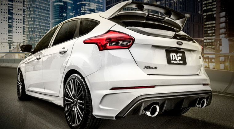 Magnaflow 2016 Ford Focus Rs Performance Exhaust Ford Focus