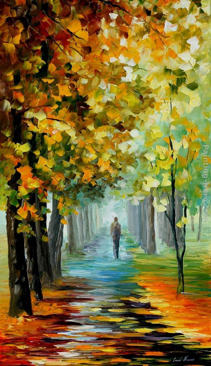 Leonid Afremov The Music Of The Fall Painting Anysize 50