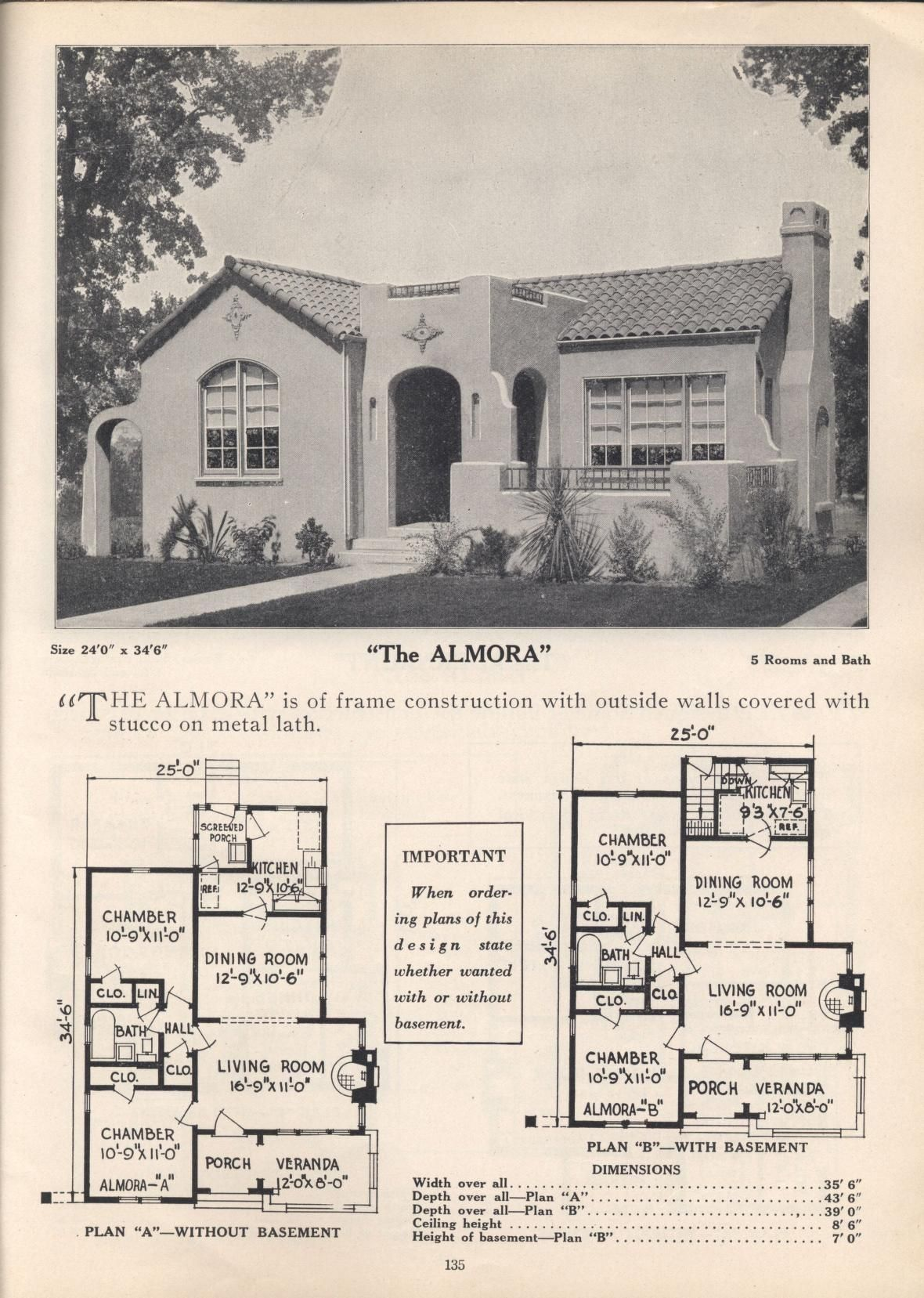 Plans For Your Home Spanish Style Homes Mediterranean House Plans Spanish Bungalow