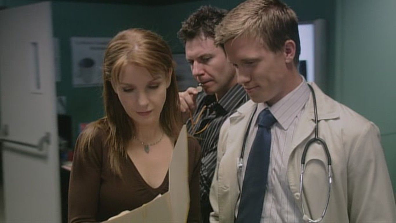 Chris Vance as Dr. Jack Gallagher in Mental: 1x02 Beautiful Delusion.