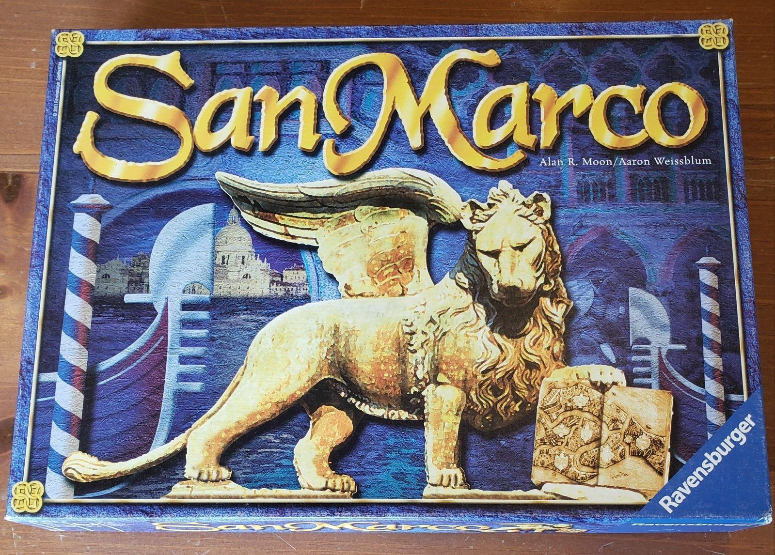 San Marco Board Game - Alan R Moon of Ticket to Ride Ravensburger ...