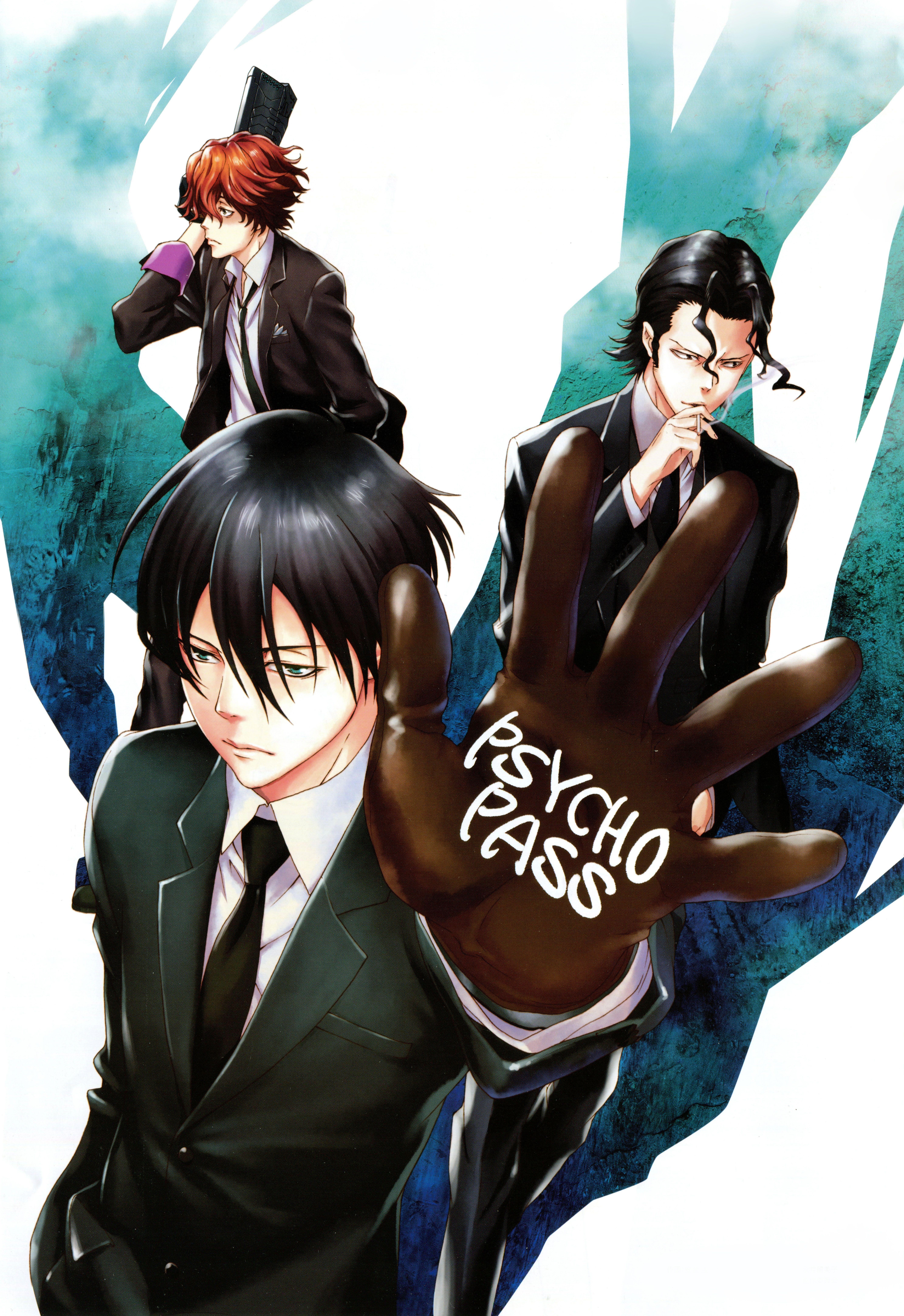 PsychoPass Psycho pass, Togane, Ginoza nobuchika