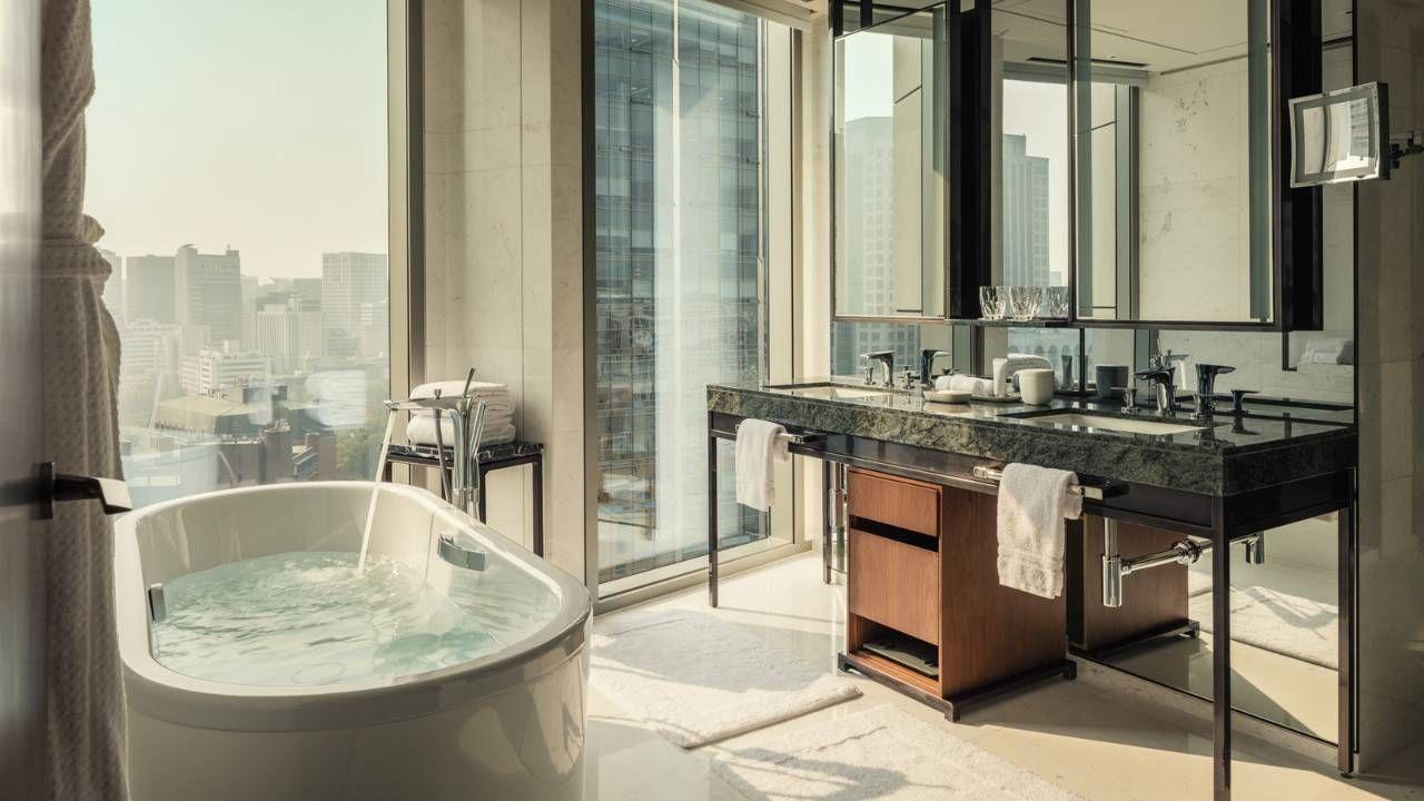 5 Star Hotels In Seoul Luxury Hotel Seoul Four Seasons Restroom Design Decor Design Hotel Interiors