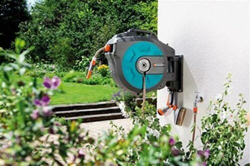Finden Sie Gardena Comfort Wand-schlauchbox 25 Roll-up Automatic Incl. 25m bei eBay in der Kategorie Garten & Terrasse>Bewässern>Schlauchwagen & -halter.   Herstellernummer: 8023   Size: 25m   Marke: Gardena