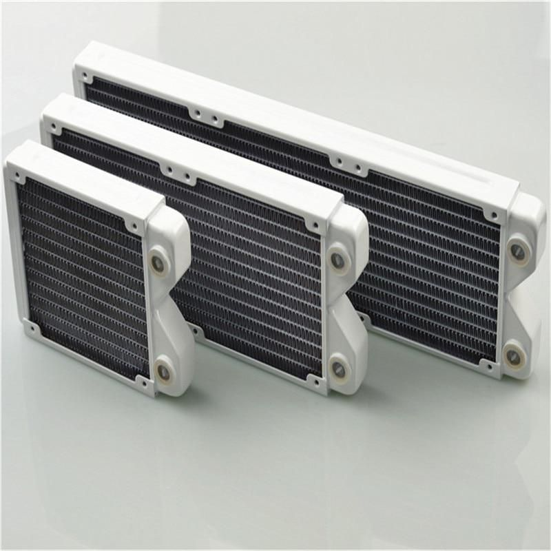 Magicool 120 240 360 Water Cooling Radiator White Thin Copper