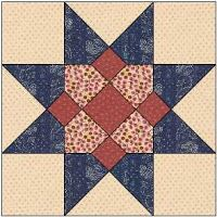 Country Rose Quilts: Block 04 - Wilhelmine