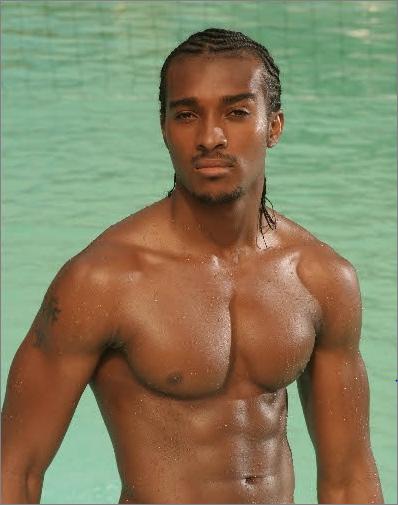Hot black male ass
