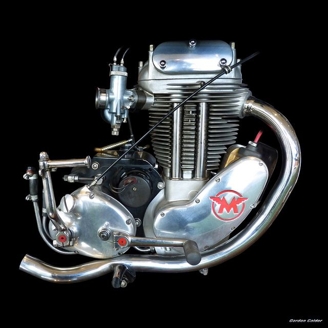 No 106: CLASSIC MATCHLESS G80 ENGINE 1952 - 1956 | by Gordon Calder