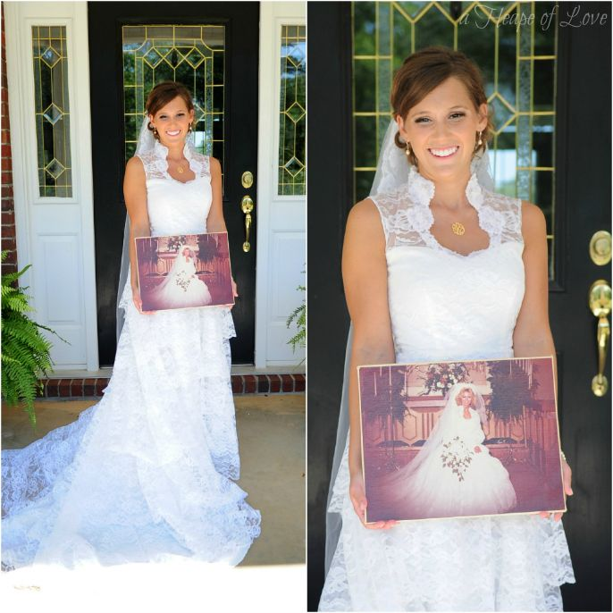 Wedding Alteration: Before And After Wedding Dress Alterations