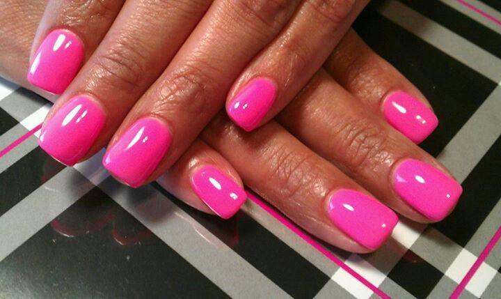 ***Light Elegance Gel nails***   Pink gel nails, Nails ...
