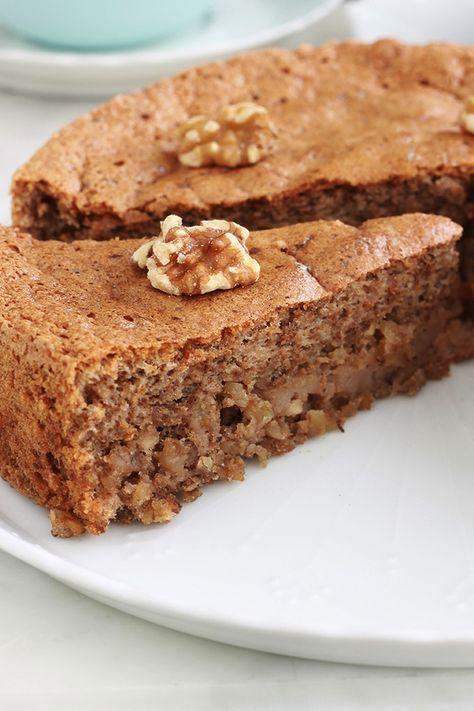 Gateau Aux Noix Sans Gluten Recette Facile Recette Cuisine