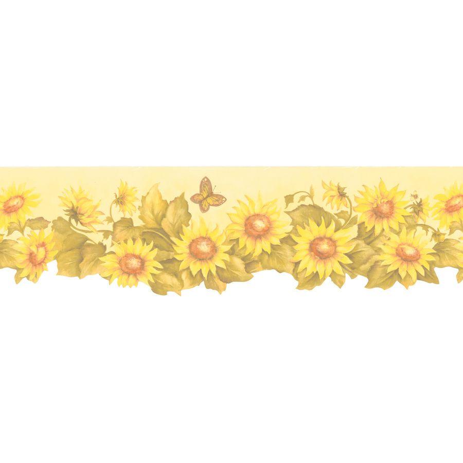 Wallpaper Border For Kitchen Google Zoeken Wallpaper Borders For Bathrooms Sunflower Wallpaper Wallpaper Border