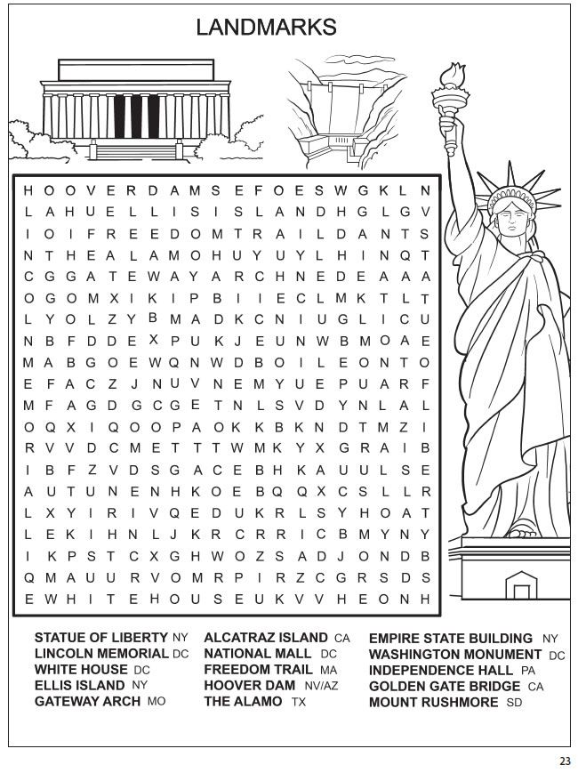 Welcome To Dover Publications Spark Amazing America Ws
