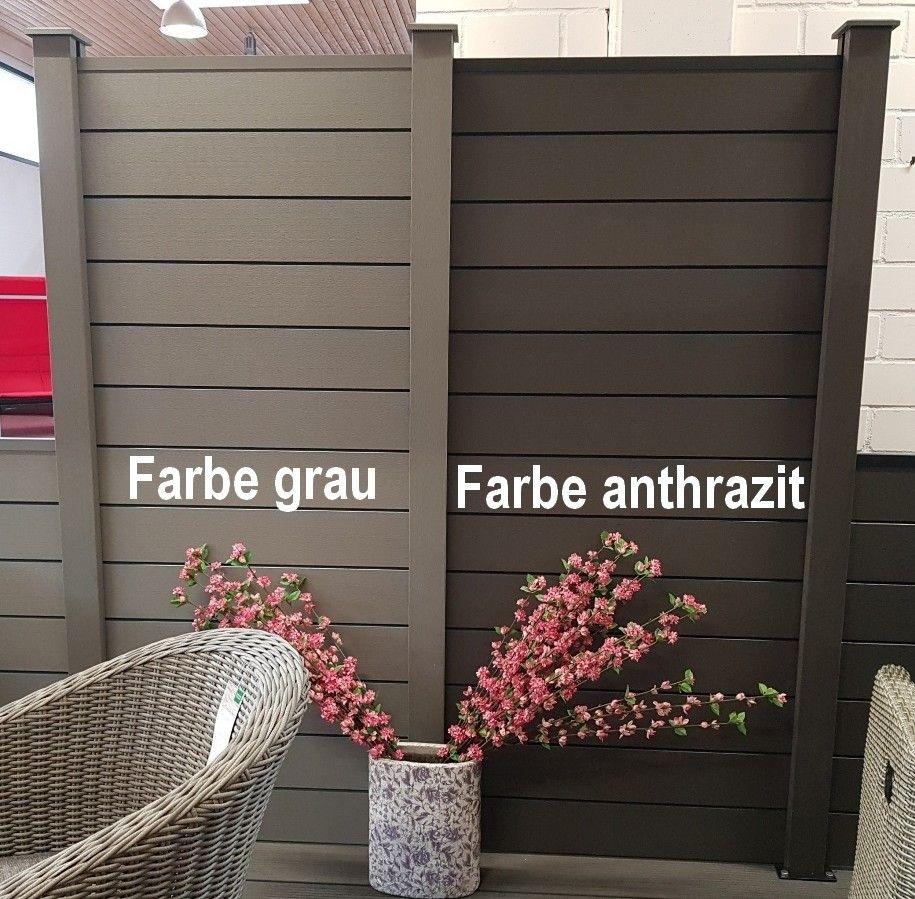 Bamboo Profillatte 16x180cm Grau Bpc Zaune Zaune Zaun Sichtschutz Zaun Rankgitter