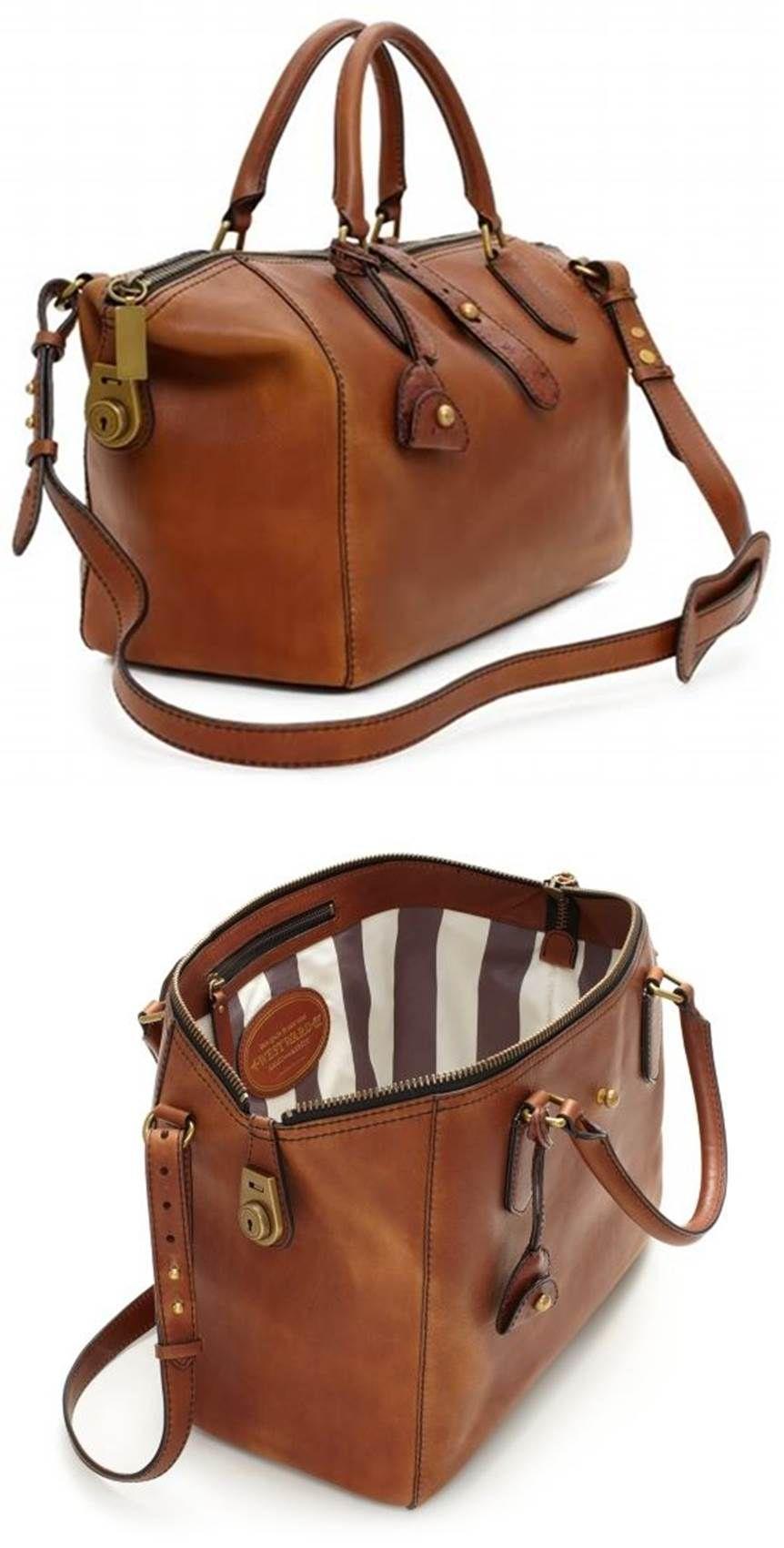 Designer Handbags Kate Spade Westward Leather Adventurer Satchel ...