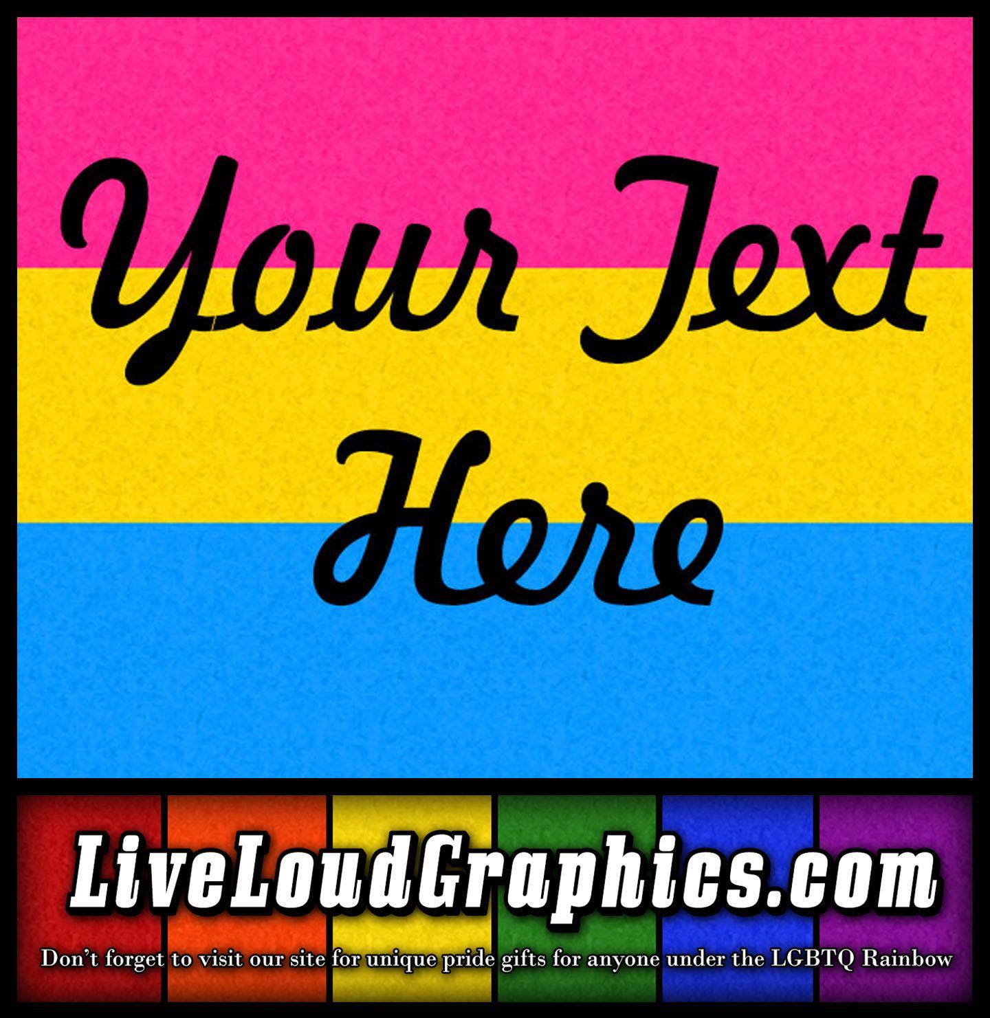pin pansexual pride - live loud