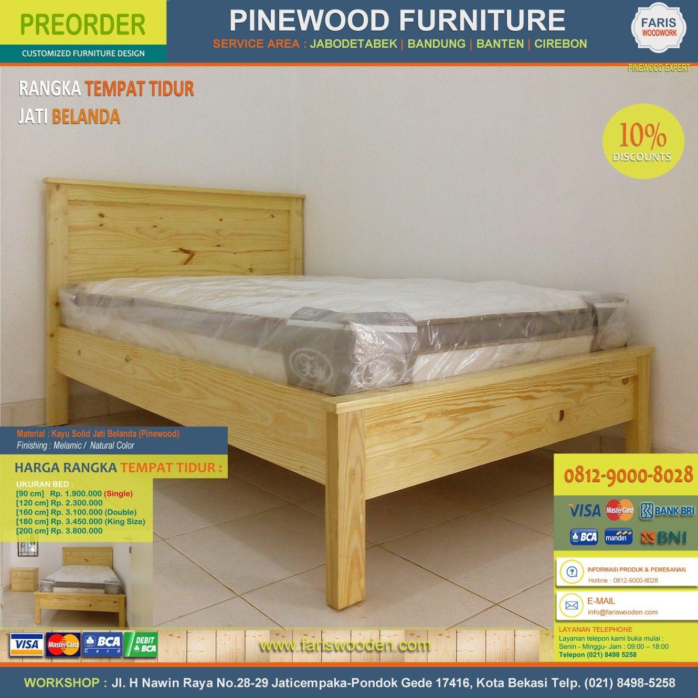 Furniture Set Rumah Tinggal Kayu Jati Belanda Pinewood Pinus  # Muebles Peglables