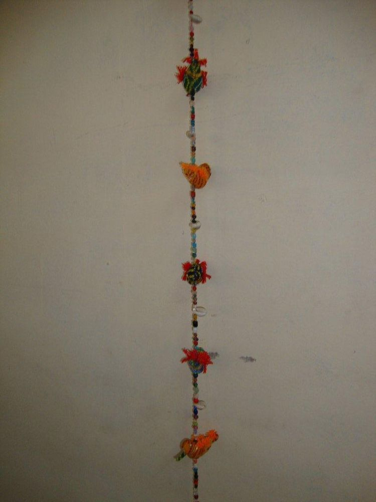 Handmade Colorful Fifteen Sparrow Statues Home Wall Decorative Hanging