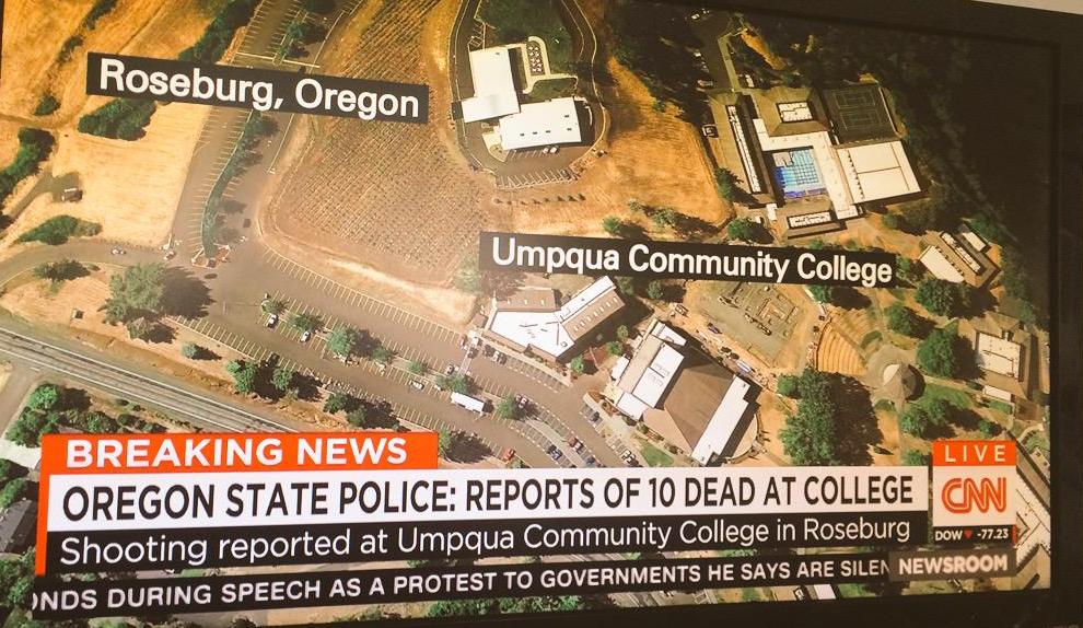 Mass Shooting At Oregon Community College, At Least 13 Dead | ThinkProgress