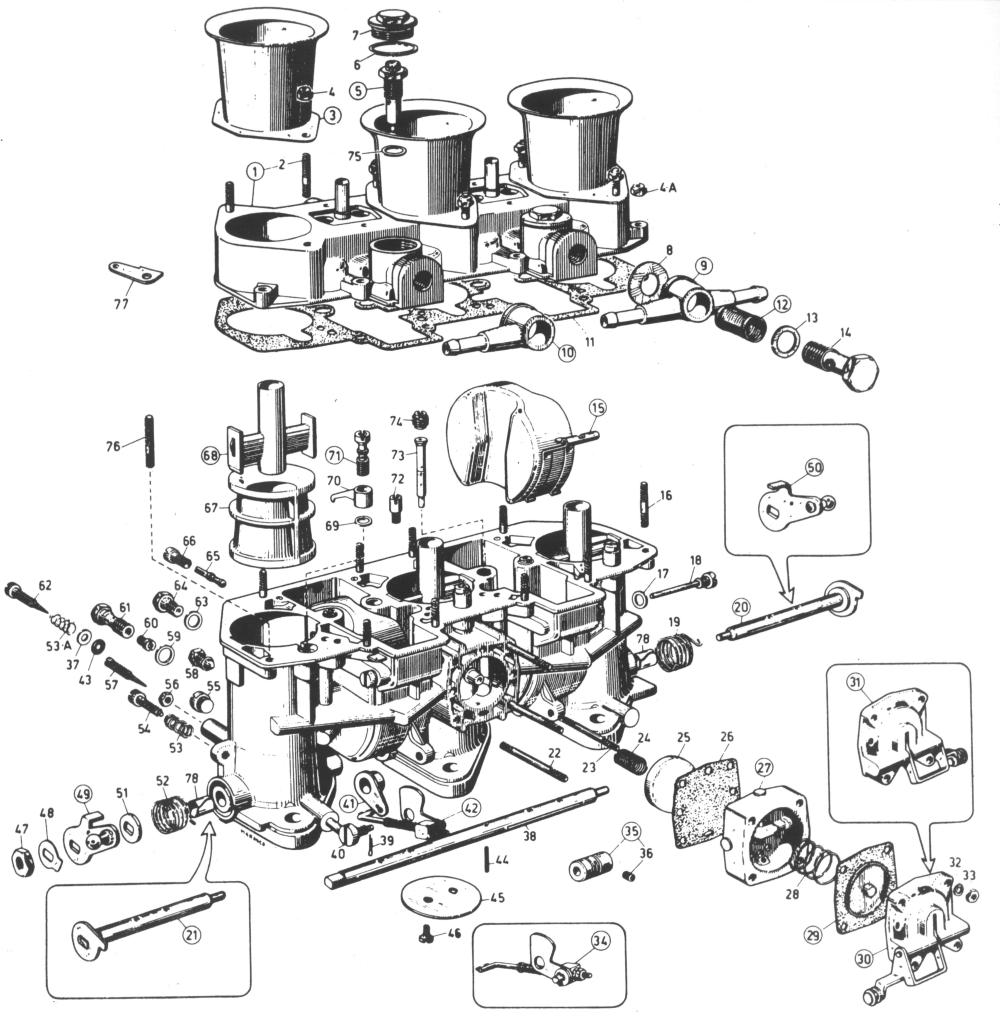 weber 40 ida carburetor