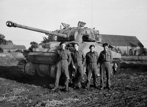 Operation Goodwood British Army S Largest Tank Battle In 25 Amazing Images World Of Tanks Tank Sherman Tank