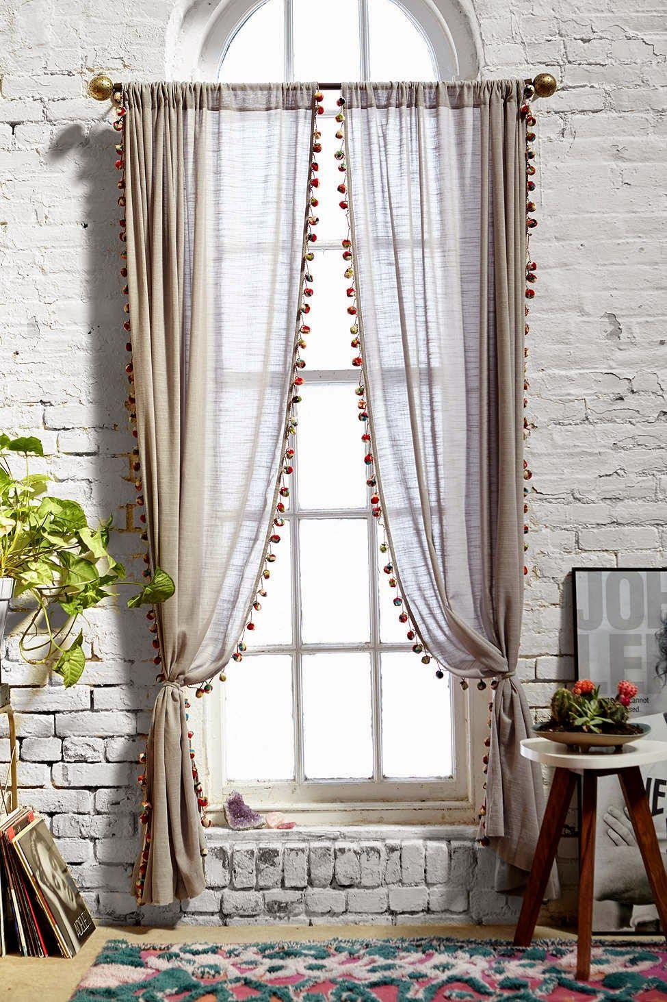 Boho window curtains - Esta Primeira Imagem N O Da Minha Cortina Mas Mostrei Antes Porque Adoro Este Colorido