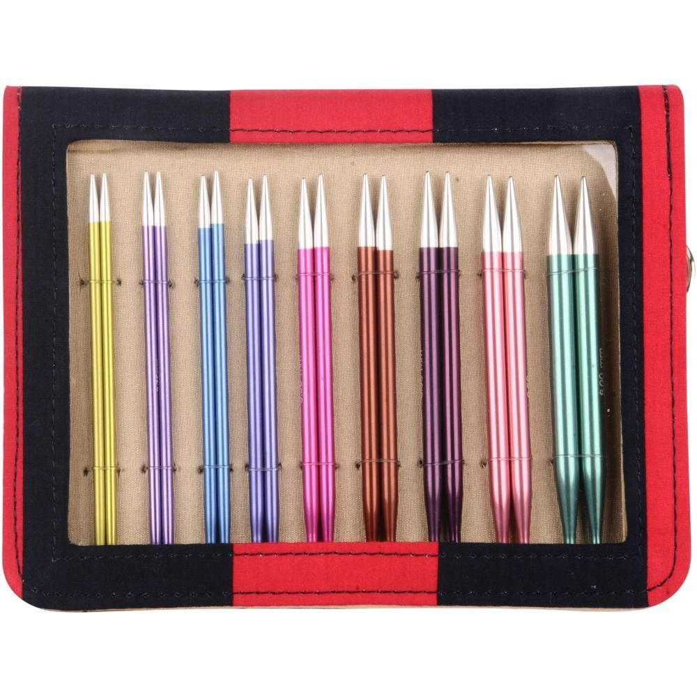 1x Zing Knitting Pins Circular Interchangeable Deluxe Set Sewing Craft