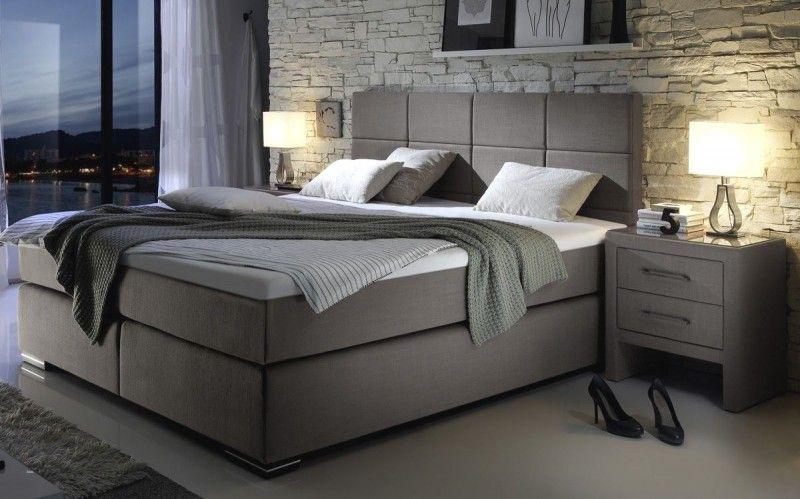 Schlafzimmer Komplett Mit Boxspringbett Bett Schlafzimmer Haus