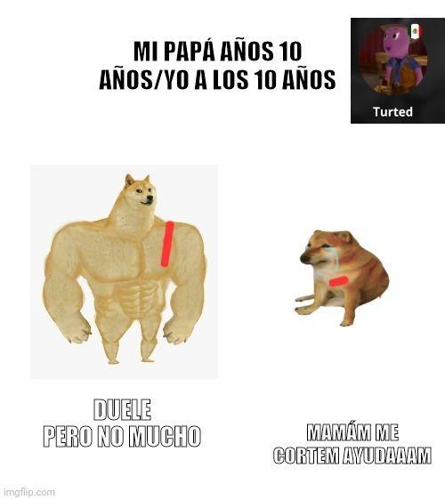 Doge Meme Vs Cheems Meme Perro Grande Perro Chico Memes En Espanol La Mejor Recopilacion De Memes Lo Mas Viral De I Memes Divertidos Memes Meme Divertido