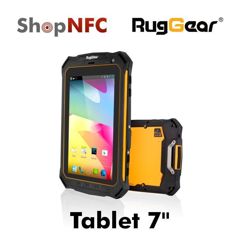 Nfc Rugged Tablet Httpjtablet Rg900 Ruggear Rg900 Display 7