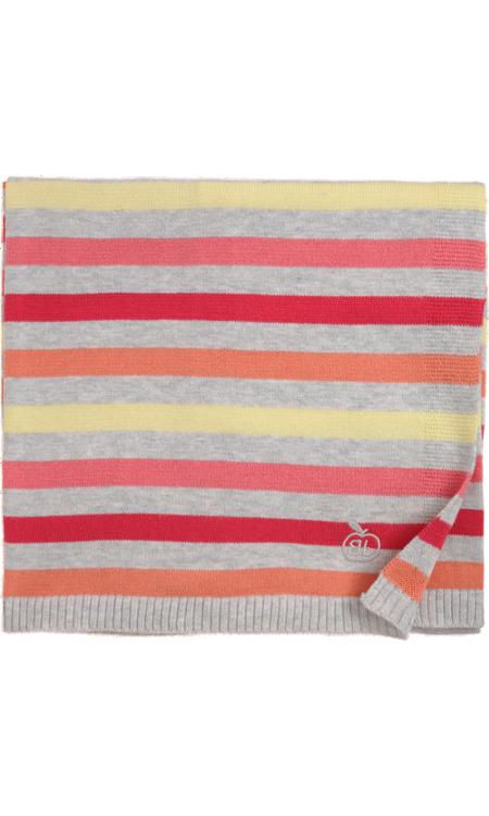 Bonnie Baby Striped Knit Blanket Gift Plans Dont Peek