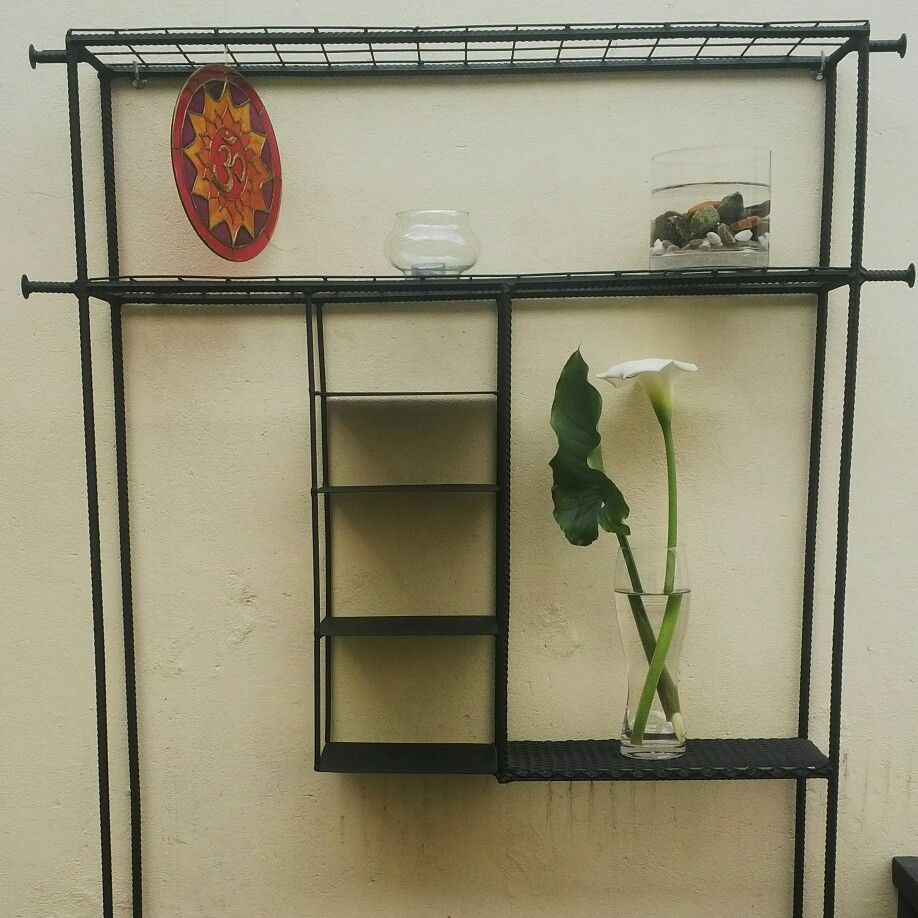Mueble de entrada en Hierro reciclado.